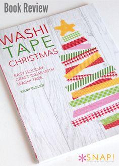 Book Review: Washi Tape Christmas by Kami Biggler @nobiggie