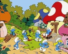 The World of the Smurfs