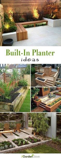 DIY Outdoor Screens and Backyard Privacy Ideas - Alles über den Garten Outdoor Screens, Outdoor Planters, Diy Planters, Planter Ideas, Concrete Planters, Garden Planters, Privacy Screens, Herbs Garden, Deck With Planter Boxes