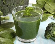 Smoothie détox au brocoli