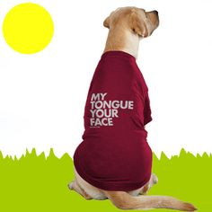 Cute Dog Shirt.  A Healthy Dog is a Happy Dog / www.PetWellbeing.org