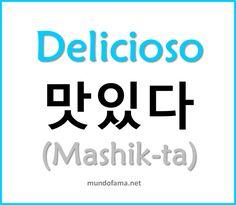 Learn Korean   Delicioso