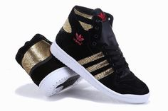 So love the gold accent. Adidas!