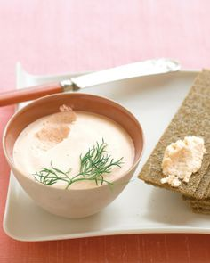 Salmon Mousse - serve with crackers or baguette slices