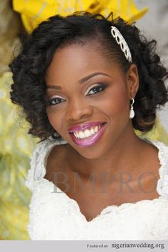 Nigerian Wedding: Fabulous Bridal Hairstyles