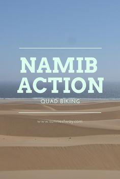 Action in der namibischen Wüste gefällig? Wie wäre es mit einer Eco Quad Tour durch die Namib? Mein absoluter Tipp!