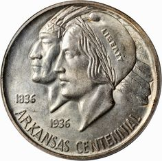 Arkansas Centennial Half Dollar
