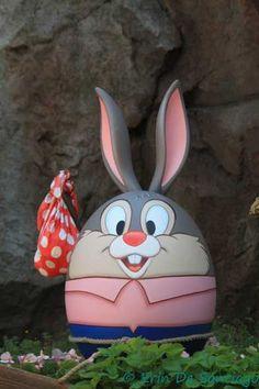 Easter eggs Tokyo Disneyland