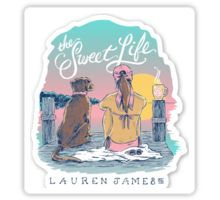 The Sweet Life Lauren James Preppy Sticker And More by Preppy Sticker Shop