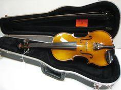 Josef Weber 4/4 Violin DEMO Fiberglass Bow & Case Exclusive to Mozingo Music #JosefWeber
