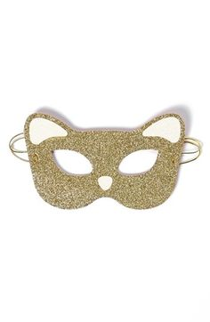 kate spade new york cat mask ; would be so adorable framed for a gallery wall