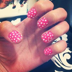 Polka dots are the cutest!