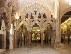 mezquita cordoba arcos entrecruzados - Buscar con Google