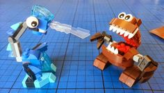 The Brick Castle: LEGO Mixels Series 2 - Gobba and Lunk