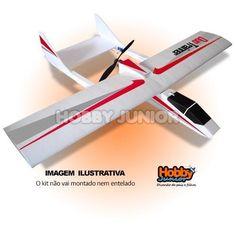 Aeromodelo Duo Trainner Depron E Isopor P3 - Kit P/ Montar