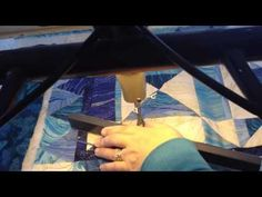 Machine quilting with rulers   Christine Baker   Fairfield Road Designs