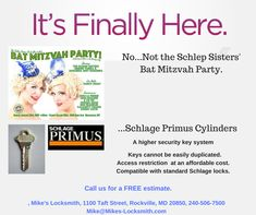 Bat Mitzvah Party, Access Control, Innovation, School