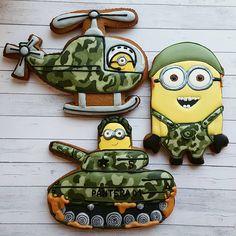 Теперь почти армия ) #татьянкиныпряники #миньоны #подарокна23февраля…