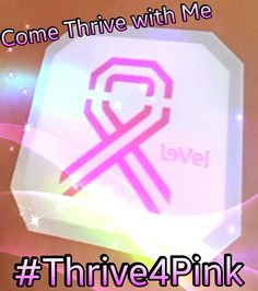 I #Thrive4Pink!  What about YOU?  #ThriveWithMe  lkklifestyle.le-vel.com