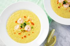Check out these skinny soups that pack in all the flavors of fall but with less calories!