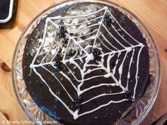 Recept - Spindelkaka #halloween