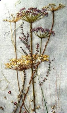 Wonderful Ribbon Embroidery Flowers by Hand Ideas. Enchanting Ribbon Embroidery Flowers by Hand Ideas. Embroidery Designs, Hand Embroidery Stitches, Silk Ribbon Embroidery, Crewel Embroidery, Cross Stitch Embroidery, Machine Embroidery, Flower Embroidery, Vintage Embroidery, Embroidered Flowers