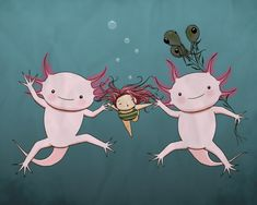 Bella Sinclair Doodlespot: Illustration Friday: Swim