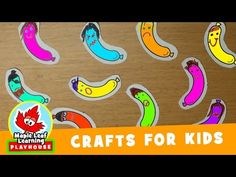 Ten Fat Sausages Craft for Kids   Maple Leaf Learning Playhouse - YouTube