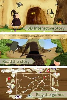 Free for limited time (Mar.2): fun 3D interactive story app with learning activities being integral part of the story #kidsapps #BookApps