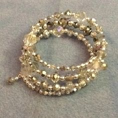 Silver Ice memory bracelet