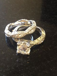 The perfect pair!  TACORI style no. 2578RD9 & 2578B