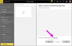 Power BI real-time streaming data and dashboards is now available