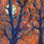 """""""Silver Moon"""" by Carol Brauer Schmidt, fine artist and member of the Gallery Uptown located in Grand Haven, Michigan."""