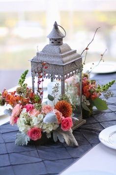Colorfully Brilliant Wedding Ideas by Sebesta Design - wedding centerpiece idea