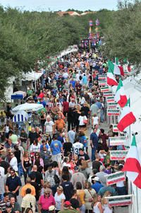 Feast Of Little Italy Italian Festival In Abacoa Jupiter Florida Great Italians Through Food Music Art And Tradition