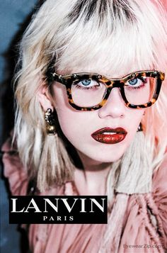 Lanvin Launches 2016 Spring/Summer Eyewear Advertising Campaign! -  Photographed byBut Sou Lai and starred bymodelMarjan Jonkman Lanvins2016 Spring/Summer EyewearAdvertising Campaign has finally been launched.  Wearing different kinds of new eyewears designed by Lavin who has been persistently seeking after inspiration and innovation the rising star poses as various images in the campaign either moderneither rebelliouseither hippy  Marjan Jonkman poses Lanvins2016 Spring/Summer…