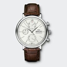IWC Schaffhausen   Montres suisses d'exception   collection   Famille Portofino   Portofino Chronographe  http://www.maier.fr/montres-prestige/montres-iwc/montres-hommes-femmes/Portofino,IW391001