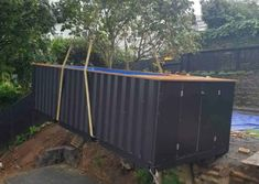 Container pool range and pricing - Container Pools NZ Shipping Container Swimming Pool, Container Pool, Pool Cover Roller, Hardwood Decking, Heat Pump, Pool Designs, Exterior Paint, Swimming Pools, Range