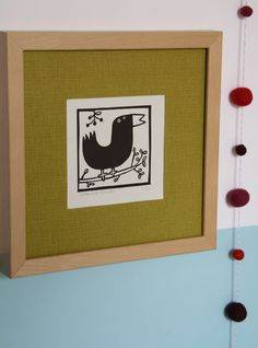 Welcome to sardine. Stamp Making, Printmaking, Stencils, Felt, Birds, Frame, Illustration, Fabric, Prints