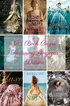 23 Teen Book Covers Featuring Gorgeous Dresses
