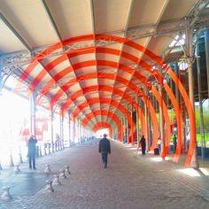MyArtMakers - Felice Varini - La Villette en suites