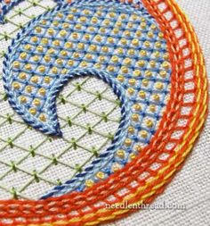 Lattice Sampler – Almost Finished! – Needle'nThread.com