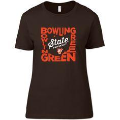 Bowling Green Falcons State Pride Woman's T-Shirt