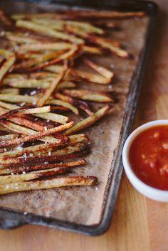 homemade ketchup + fries   Delightfully Tacky