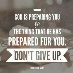 God Is Preparing