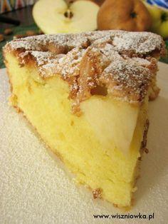 Ciasto biszkoptowe z owocami - pyszne!