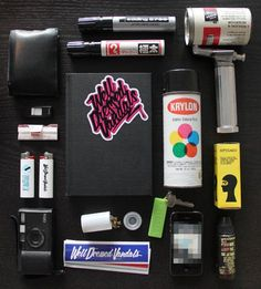 How to Create 3 Simple Graffiti Tools | Shoe Polish Mop