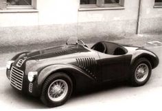 Though technically not the first car Enzo built as an independent entity after his separation from Alfa Romeo, a distinction that belongs to 1939's Auto Avio Contruzioni 815, the 125 S was the first branded as a Ferrari. A fresh-sheet design, the 125 differed from the 815 in that it utilized a V12 instead of a straight eight loosely based on existing Fiat four cylinders