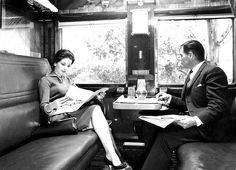Blue Train Compartment Scene | Flickr - Photo Sharing!