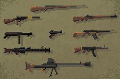 Piskel Art, Weapons, Guns, World, Google, Rpg, Drawings, Weapons Guns, Weapons Guns